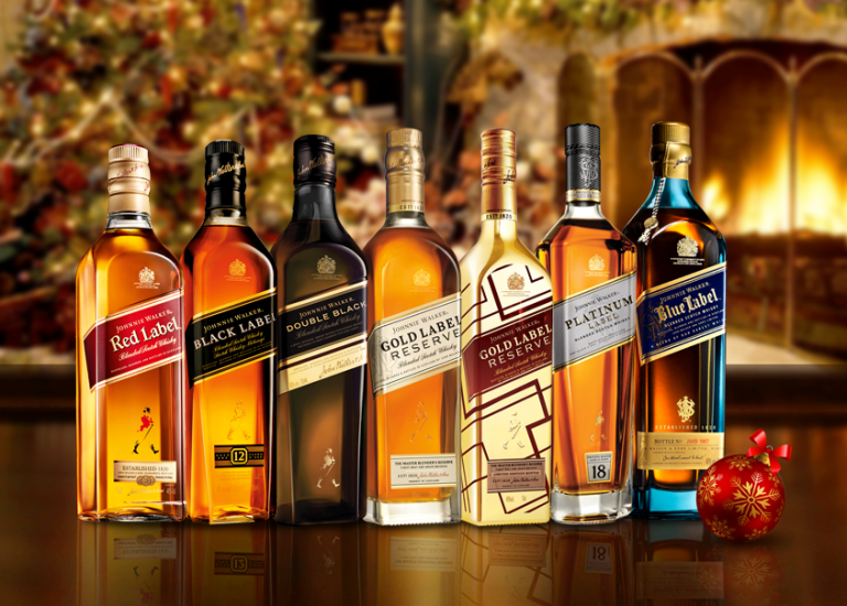 Giá rượu johnnie walker, red label, black label, gold label